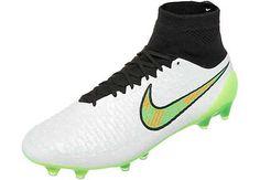 White and Poison Green Nike Magista Obra