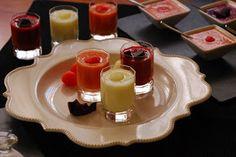 Cuchillito y Tenedor: Gazpacho de sandía, sopa de melón y salmorejo de remolacha. Gazpacho, Smoothies, Panna Cotta, Ethnic Recipes, Food, Snacks, Cooking Recipes, Meal, Dulce De Leche