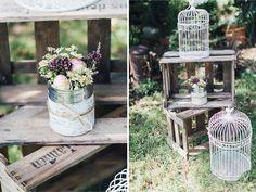 Rustikale Vintage Gartenhochzeit by OctaviaplusKlaus