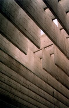 SVERRE FEHN - NORDISCHER PAVILLION, VENEDIG ,1962 #wood#interior#ceiling#beam#woodenbeam#interiorspace#