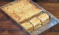 Strúhaný koláč s tvarohom a jablkami – snadnepecivo Romanian Food, Cornbread, Tofu, Cooking, Cake, Ethnic Recipes, Sweet Treats, Meal, Lemon Tarts
