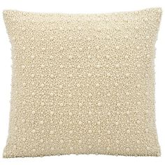 kathy ireland by Nourison Pearl Square Pillow // Accent Pillow