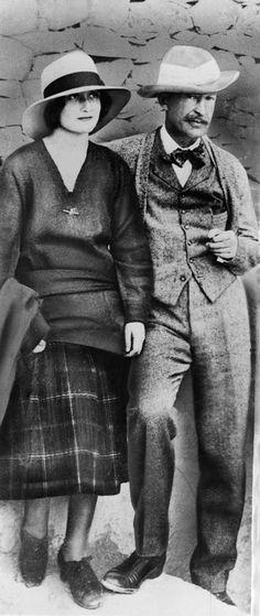 Almina Herbert | George Herbert, quinto conde de Carnarvon, y su hija lady Evelyn ...