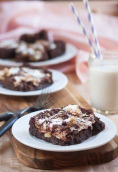 Vegan Gluten-Free Rocky Road Brownies