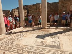 Maison de Dionysos, île de Délos