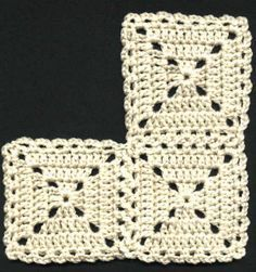 a bit old-fashioned like this, but might look nice with some funky colours involved?Looks a bit old-fashioned like this, but might look nice with some funky colours involved? Joining Crochet Squares, Crochet Blocks, Granny Square Crochet Pattern, Crochet Stitches Patterns, Crochet Granny, Crochet Motif, Hat Crochet, Crochet Flats, Love Crochet