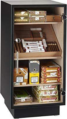 adorini Zigarren Humidor Befeuchter Deluxe silber