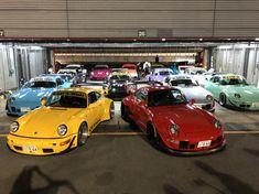 Video of RWB family 2018 idlers 12 hours endurance race Porsche, Racing, Japan, Cars, Running, Auto Racing, Autos, Car, Automobile