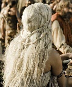 daenerys targaryen hair - Google Search