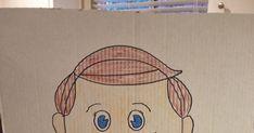 Eu encontrei esta ideia no sugardoodle e achei bem divertido! Pegue apenas um cartaz e desenha um menino com uma boca redonda. Rec...