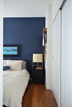 Paint colors that match this Apartment Therapy photo: SW 6005 Folkstone, SW 6787 Fountain, SW 6258 Tricorn Black, SW 6097 Sturdy Brown, SW 9176 Dress Blues
