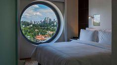 Sao Paulo Brazil | Hotel Unique | Deluxe Room Bedroom