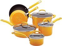 10-pc. Hard Anodized II Nonstick Cookware Set by Rachael Ray at Cooking.com