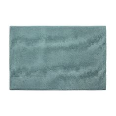 Plush Memory Foam Chenille Cushioned Single Bath Mat
