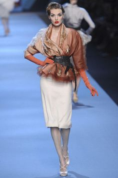 Défilé Dior Printemps-été 2011