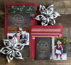 Chalkboard Christmas Card Clipart & Envelope Liners | Lia Griffith