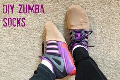 Slip these over your shoes so you can do Zumba (or any dance) on carpet!