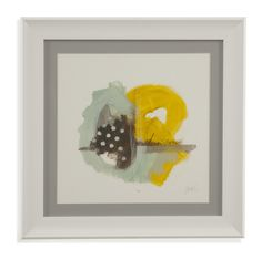 Thoroughly Modern 'Tonal Frequency IV' Framed Painting Print