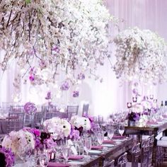 612 × 612 in shades of lavender and lilac wedding ideas and inspiration Lilac Wedding, Glamorous Wedding, Luxury Wedding, Wedding Flowers, Dream Wedding, Wedding Day, Wedding Bells, Perfect Wedding, Wedding Reception Centerpieces