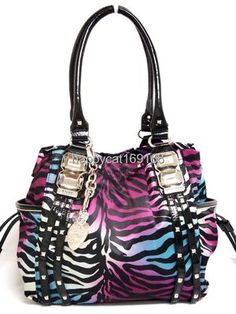 Kathy Van Zeeland-Glam RockII Shopper bag....THIS ONE is my next bag!!!!