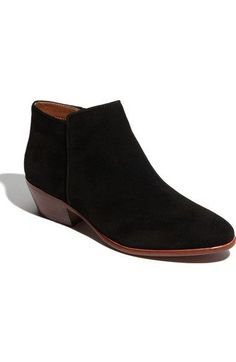 37b56cd5974 Sam Edelman  Petty  Genuine Calf Hair Chelsea Bootie (Women) available at  in black suede color size 8