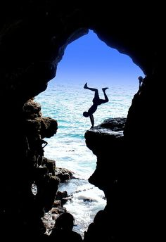 Hercules cave in Tangier, Morocco