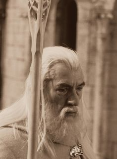 Ah yes, Gandalf ... That's what they used to call me. Gandalf the Grey. I am now Gandalf the White