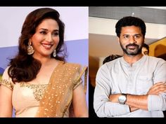 Madhuri Dixit says she scared of dancing with Prabhudeva