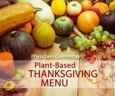 Plant-Based Thanksgiving Menu