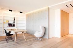 Le béton acquiert ses lettres de noblesse; Les panneaux muraux Panbeton® Banché 2 mm sont idéals pour se créer un espace de travail moderne et lumineux / Concrete LCDA
