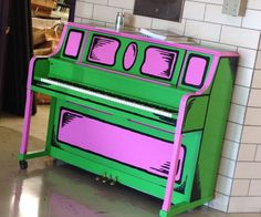 This project is to turn a drab old piano into a piece of art that reflects both a happier environment and its surroundings...a school. I painted this piano to sit in the lobby of a local middle school so that both kids and adults would be greeted by something the other school didn't have and so that kids could play on it as they wish. The project took about 5 days working 6-7 hours each of the days. (Like watching paint dry....literally) the majority of the time was just that. Watching…