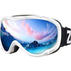 0a41cf71016d Zionor Lagopus Goggles for Skiing and Snowboarding- UV Protection Best Ski  Goggles
