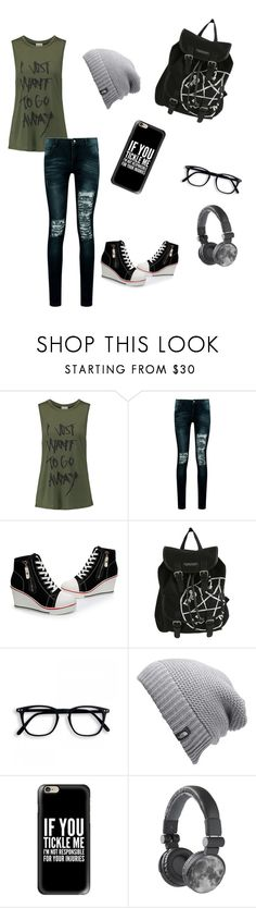 """""""Random Idek  what number."""" by jayisdarkness ❤ liked on Polyvore featuring Haute Hippie, Boohoo, The North Face and Casetify"""