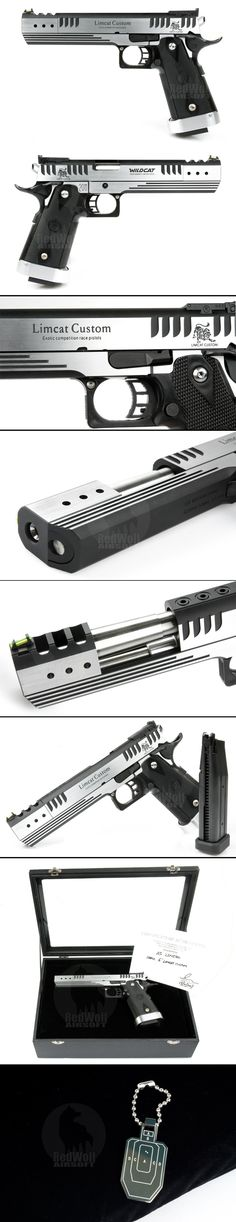 Buy Airsoft Surgeon Marui 6 inch Limcat Custom (Limited Edition)-Airsoftsurgeon & other Airsoft gun accessories at redwolfairsoft.com...