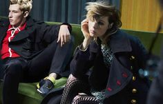 Burberry's new campaign has launched, get the lowdown over on Grazia- http://lifestyle.one/grazia/fashion/news/burberry-ad-campaign-luke-edward-hall/