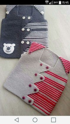Baby Vest Decoration Techniques – Knit Vest Decorations for Babies – Kadir Sahin – Join in the world of pin Baby Knitting Patterns, Knitting Designs, Baby Patterns, Crochet For Kids, Knit Crochet, Crochet Jacket Pattern, Diy Crafts Knitting, Pull Bebe, Knit Baby Sweaters