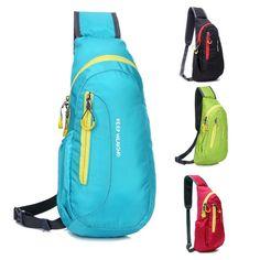 Dreamyth Leisure Zipper Bag Unisex Backpack Folding Bag Shoulder Bag Student Travel Bag