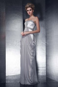 Gorgeous Sheath/Column Floor-Length Sweetheart Beadings Dasha's Prom/Evening Dress