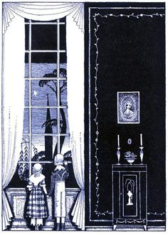 Kay Nielsen illustration  Pinned for later from nielsen.artpassions.net.