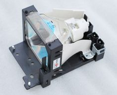 Replacement Lamp with Housing for HITACHI CP-S380W with Ushio Bulb Inside