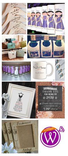 Here come the girls - Bridesmaid wedding favors - 21 Inspiring inspirations - www.weddzer.com