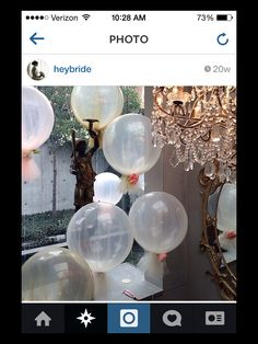 Balloons could add height if branches are too rustic