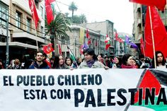 le peuple chilien pour la cause palestinienne