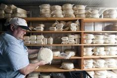 Seattle Times article on Bow-Edison farms and agro biz:  This pic is of Vic Jensen, owner of the Golden Glen Creamery!