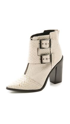 Ankle booties are a must have this season...