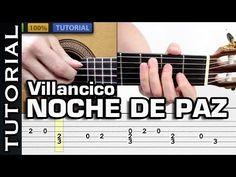 Aprende NOCHE DE PAZ en Fingerpicking MUY FACIL! VILLANCICO PARA GUITARRA - YouTube