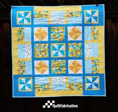 Quilt Fabrication: Ducks in the Pond