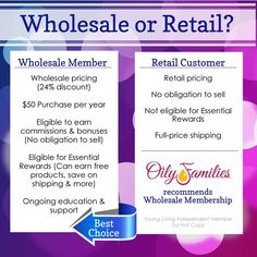 Why being a Wholesale Member with Young Living is NOT scary!