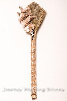 Warriors of Love Wedding Broom Best Seller by JourneyWeddingBrooms, $54.95
