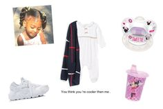 """""""This how My child going be !"""" by miraclefaust1 ❤ liked on Polyvore featuring NIKE, Disney and Grotesk"""